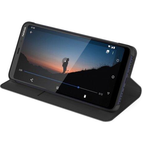 Husa Book Nokia Flip pentru Nokia 3.1 Plus Negru