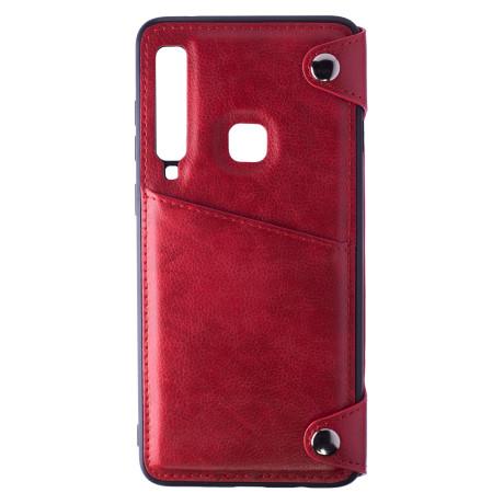 Husa Book Portofel Samsung Galaxy A9, Rosu
