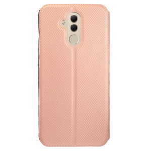 Husa Book S-View Huawei Mate 20 Lite, Contakt Roz