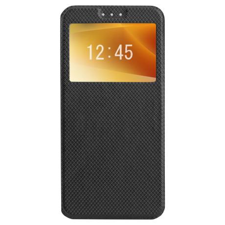 Husa Book S-View Huawei P20 Lite, Contakt Neagra