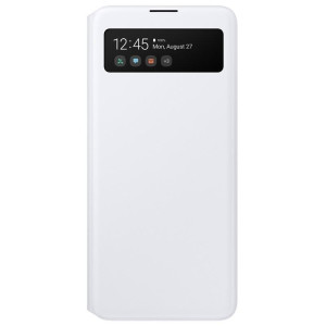 Husa Book S-View Led Samsung pentru Samsung Galaxy A51 Alb