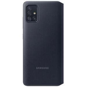 Husa Book S-View Led Samsung pentru Samsung Galaxy A71 Black