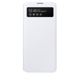 Husa Book S-View Led Samsung pentru Samsung Galaxy A71 White