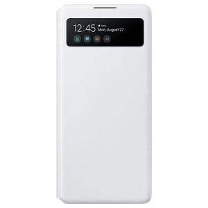 Husa Book S-View Led Samsung pentru Samsung Galaxy S10e Alb