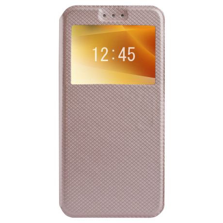 Husa Book S-View Samsung Galaxy A8 2018, Contakt Aurie
