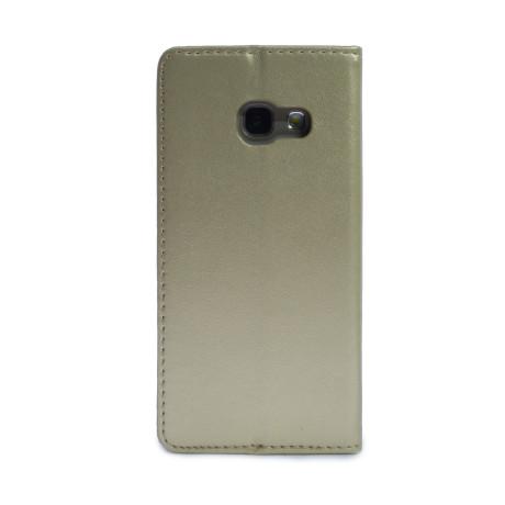 Husa Book Samsung Galaxy A3 2017 Auriu