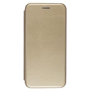 Husa Book Samsung Galaxy A30, Auriu OC