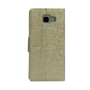 Husa Book Samsung Galaxy A5 2016 Auriu