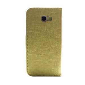 Husa Book Samsung Galaxy A5 2017 Auriu