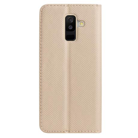 Husa Book Samsung Galaxy A6 Plus 2018, Contakt Aurie