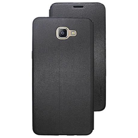 Husa Book Samsung Galaxy A6 Plus 2018, X-Level Neagra