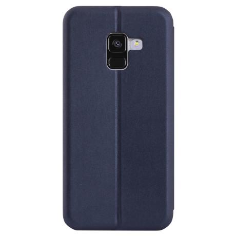 Husa book Samsung Galaxy A8 2018 Albastru OC
