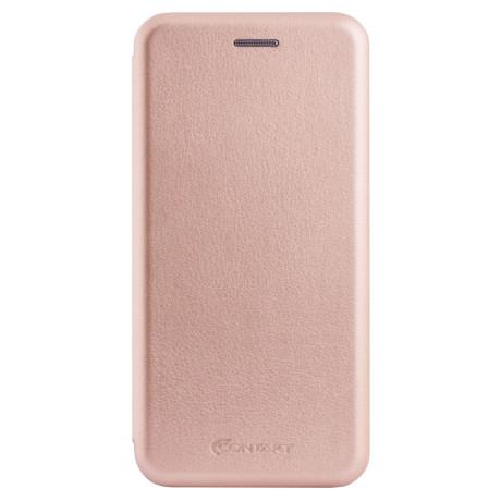 Husa book Samsung Galaxy A8 2018 Roz OC