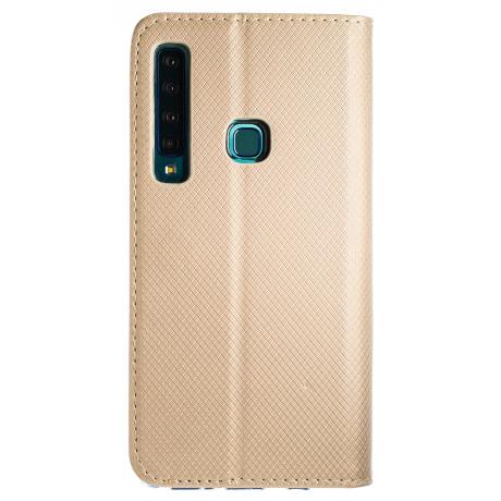Husa Book Samsung Galaxy A9 2018 Auriu
