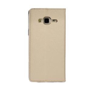 Husa Book Samsung Galaxy J3 2016 Auriu