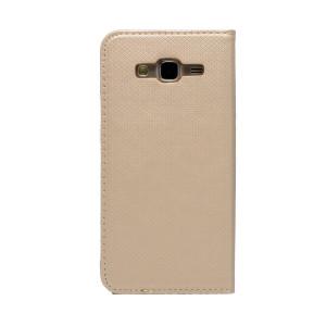Husa Book Samsung Galaxy J5 Auriu