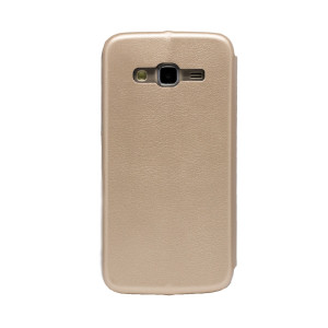 Husa book Samsung Galaxy J5 Auriu OC