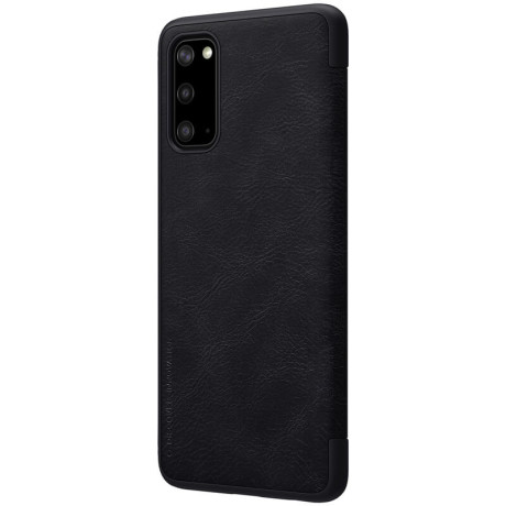 Husa Book Samsung Galaxy S20, Nillkin Qin Negru