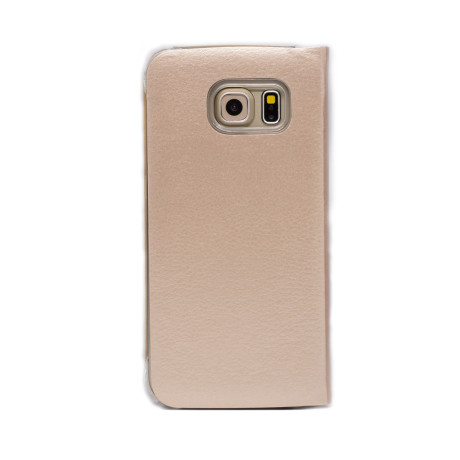 Husa Book Samsung Galaxy S7 Edge Auriu CTK