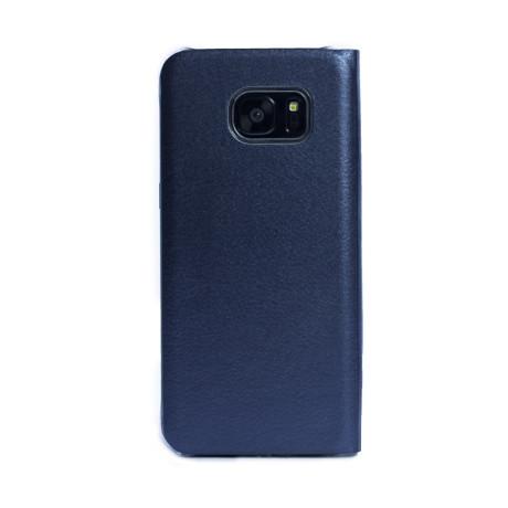 Husa Book Samsung Galaxy S7 Edge, CTK Albastra