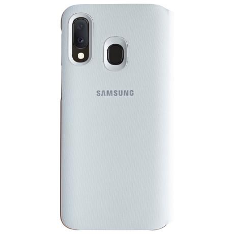 Husa Samsung Flip Wallet Cover pentru Samsung Galaxy A20e White