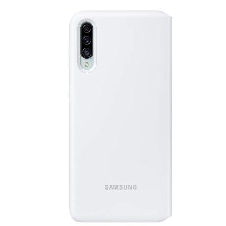 Husa Samsung Flip Wallet Cover pentru Samsung Galaxy A30s White
