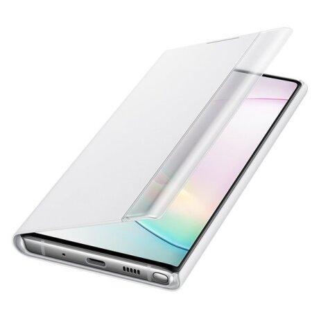 Husa Book Samsung pentru Samsung Galaxy Note 10 Alb