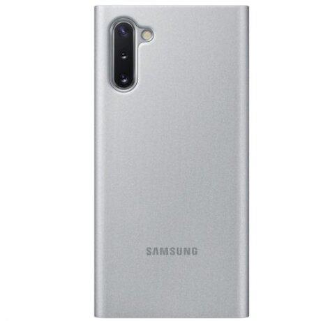 Husa Book Samsung pentru Samsung Galaxy Note 10 Argintiu