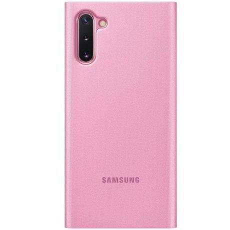 Husa Book Samsung pentru Samsung Galaxy Note 10 Roz