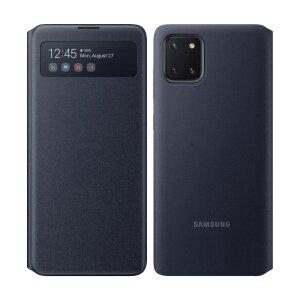Husa Book Samsung S-View pentru Samsung Galaxy Note 10 Lite Black