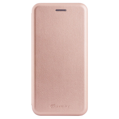 Husa book satinat Huawei P20 Lite, Contakt Roz