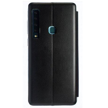 Husa Book Satinat Samsung Galaxy A9 2018, Negru OC