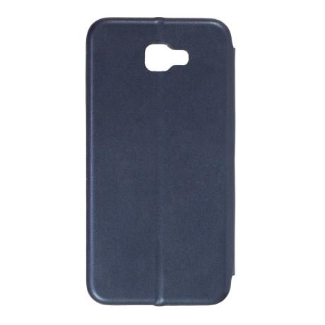 Husa Book Satinat Samsung Galaxy J5 Prime Albastru OC