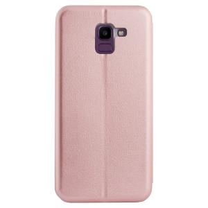 Husa Book Satinat Samsung Galaxy S8, Roz OC