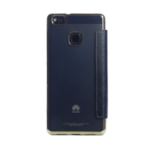 Husa book silicon Huawei P9 Lite Auriu