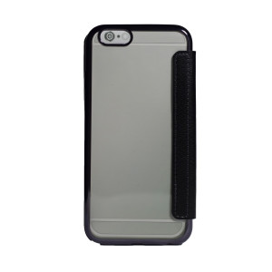 Husa book silicon iPhone 6 Negru