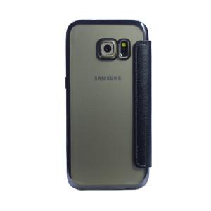 Husa book silicon Samsung Galaxy S7 Negru