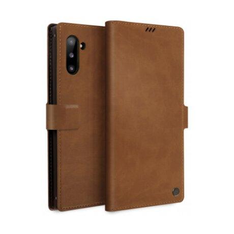 Husa Book Uniq Journa-Heritage pentru Samsung Galaxy Note 10 UNIQ-GN10GAR-JHERCML Maro