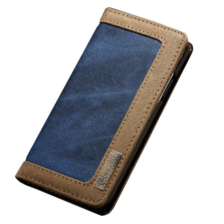 Husa Canvas iPhone XS 5.8'', CaseMe,  Albastra