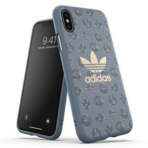 Husa Cover Adidas OR Moulded Shibori pentru iPhone X/XS Blue