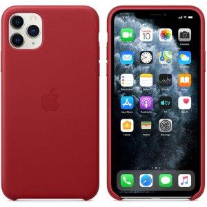 Husa Cover Apple Leather Pentru Iphone 11 Pro Max Red