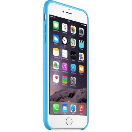 Husa Cover Apple Silicon pentru iPhone 6/6S Plus Blue