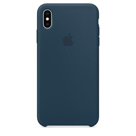 Husa Cover Apple Silicon pentru iPhone XS Max Pacific Green
