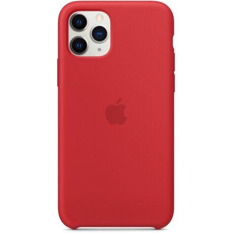 Husa Cover Apple Silicone Pentru Iphone 11 Pro Red