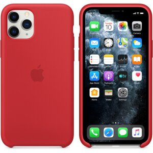 Husa Cover Apple Silicone Pentru Iphone 11 Pro Red