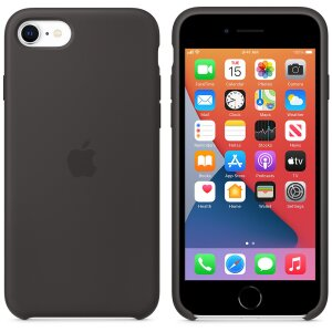 Husa Cover Apple Silicone pentru iPhone 7/8/SE 2 Black