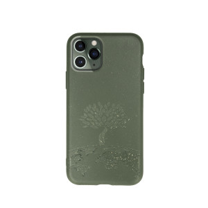 Husa Cover Biodegradabile Forever Bioio Tree pentru iPhone 11 Pro Max Verde
