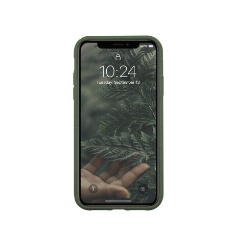 Husa Cover Biodegradabile Forever Bioio Tree pentru iPhone XS Max Verde
