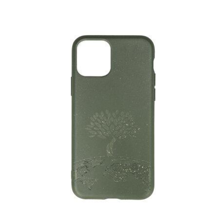 Husa Cover Biodegradabile Forever Bioio Tree pentru Samsung Galaxy A70 Verde
