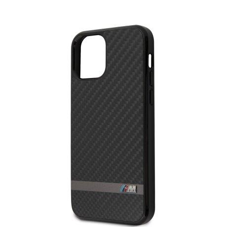 Husa Cover BMW Carbon&Alu pentru iPhone 12 Mini Black